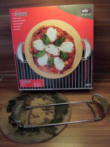 gebrauchtes Weber Pizzastein-Set